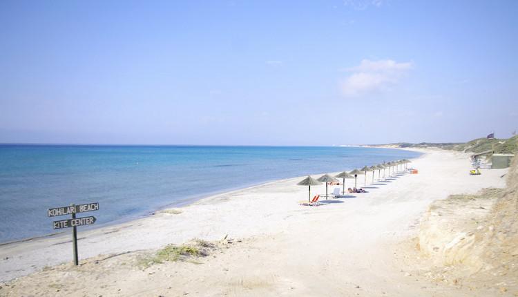 Kohilaria Beach auf der Insel Kos.