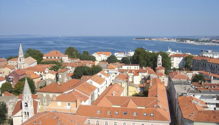 Wassertemperatur in Zadar (Kroatien) an der Adria