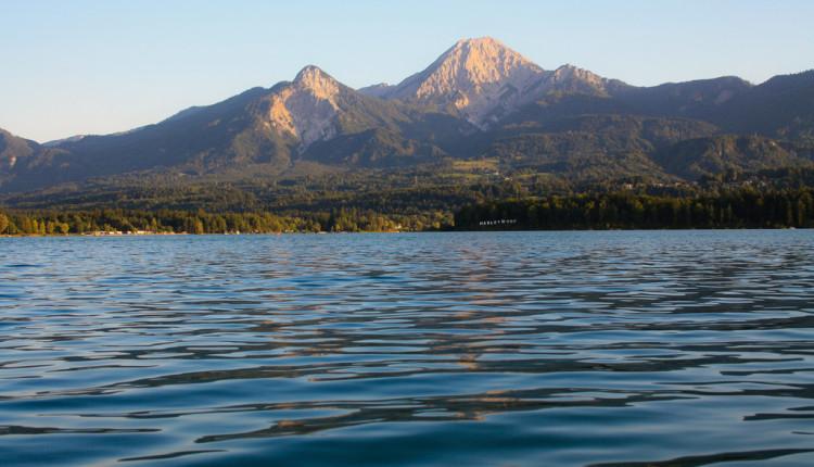Wassertemperatur Faaker See