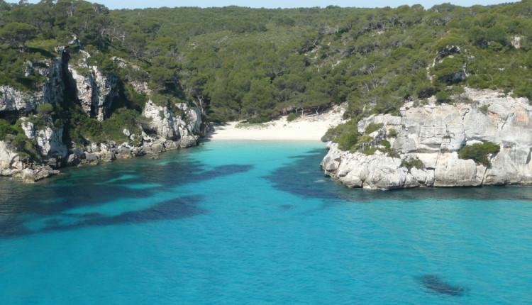 Wassertemperatur Menorca