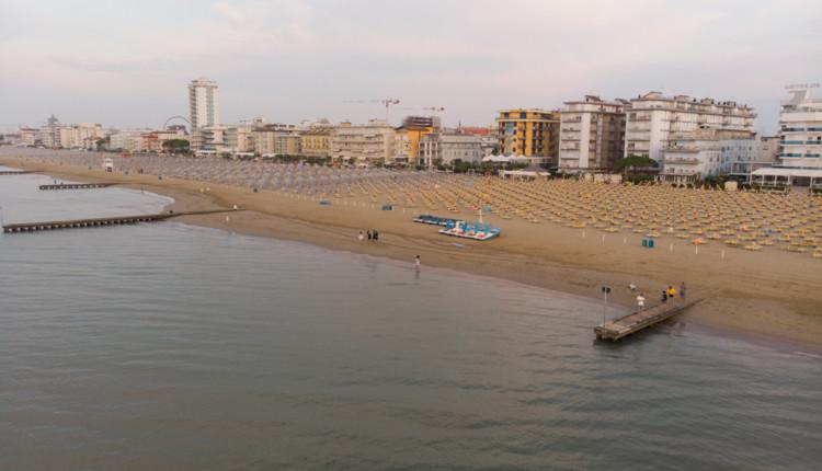 Strand von Lido de Jesolo