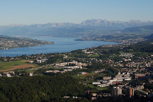Wassertemperatur Zürichsee